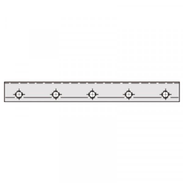 Messerwellen-Druckleiste Gesamtlänge bis 630 mm Preis pro Stück