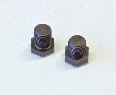 """Messerwellenschraube SW 17, R 1/4"""" WIGO Gesamtlänge 19 mm"""