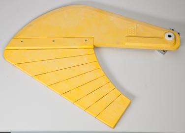 selbstt. Schwingschutz Typ1560 für Hobelbreiten 400/410 mm
