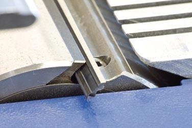 TERSA-Einweg-Wendemesser HSS-Qualität, 610 mm