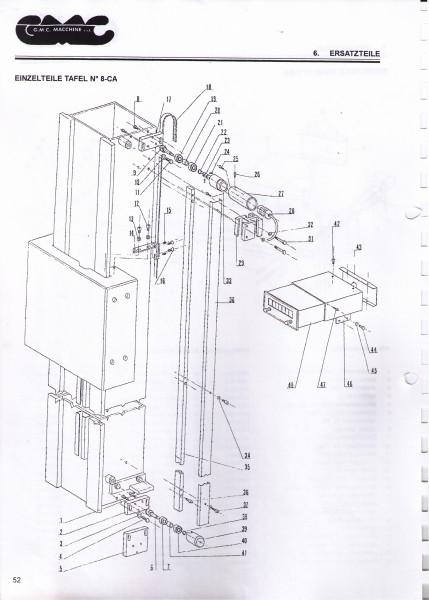 Kupplungsstück Teil 23 aus TAV8-CA zur KGS 660 S
