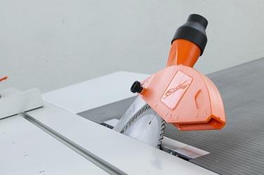Sägeschutzhaube Typ 1798 für KS-Blätter bis 315 mm Ø für Schlauch 60 mm Ø