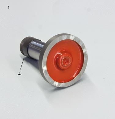 Verschlußkappe Größe IV für obere und untere Rückenrolle