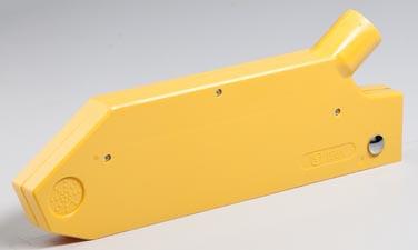 Absaugbare Schutzhaube Typ1794 für KS-Blätter bis 250 mm Ø für Schlauch 38 mm Ø