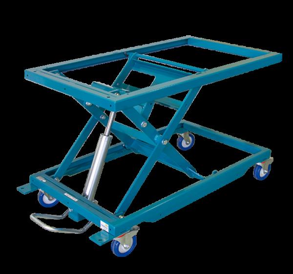 Höhenverstellbarer Arbeitstisch HS 300-midi mit Schwenkrahmen